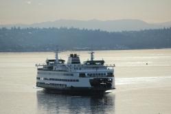 Bainbridge Island Ferry, Seattle, Eagle Harbor