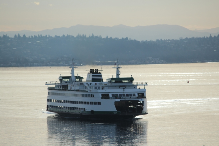 Bainbridge Island Ferry, Seattle, Eagle Harbor