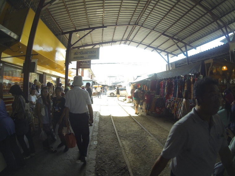 Samut Songkram, Railway Market, Bangkok