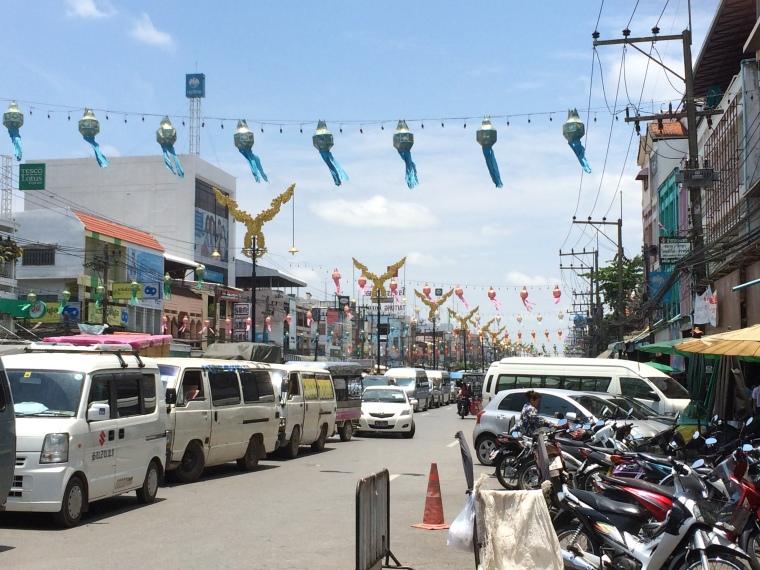 Mae Sai, Burma Border