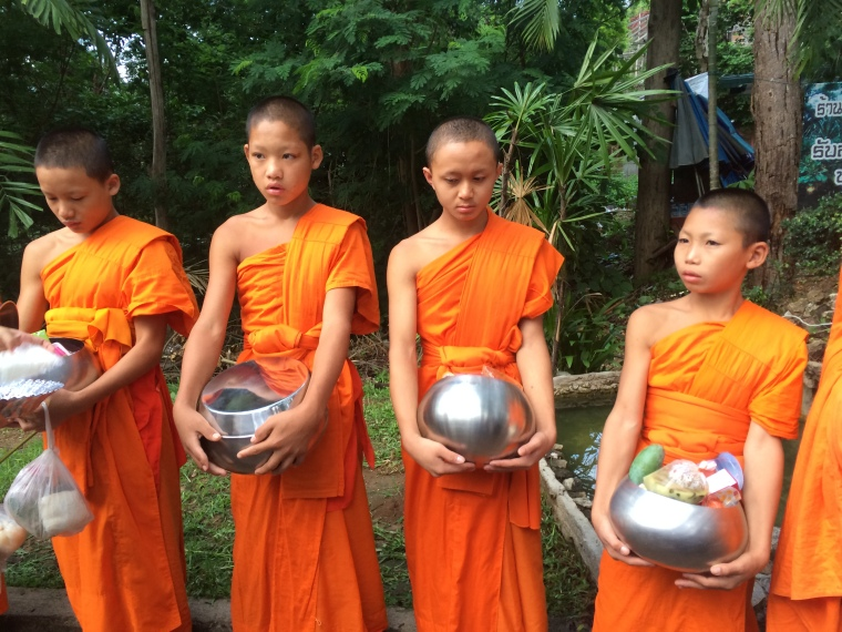 Monks, Chiang Mai