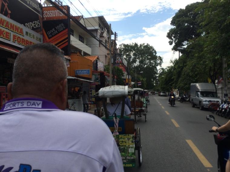 Trishaw, Chiang Mia