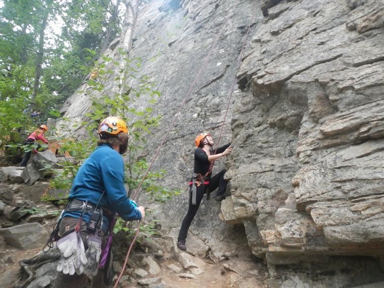 Klondike Rock Climbing