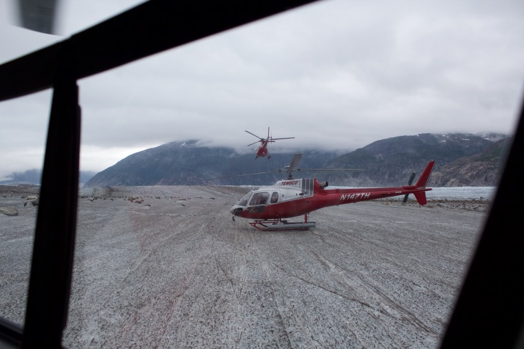 Glacier Walk & Helicopter