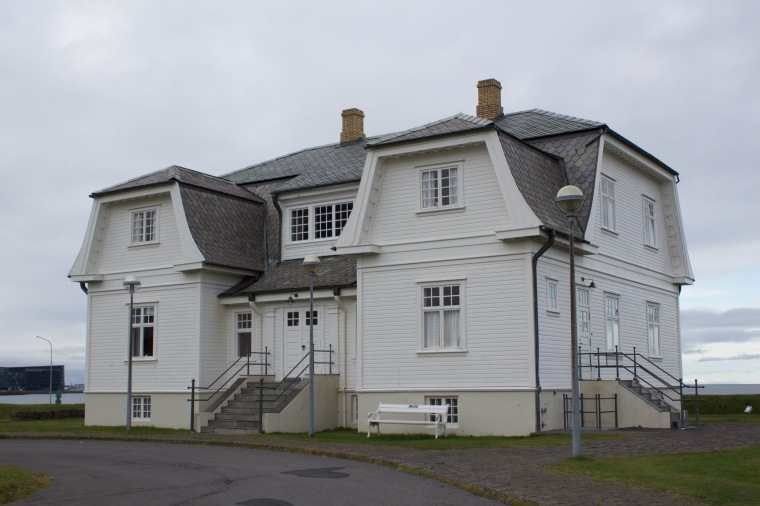 Höfði House (where Gorbachev and Raegan met which ended the Cold War)