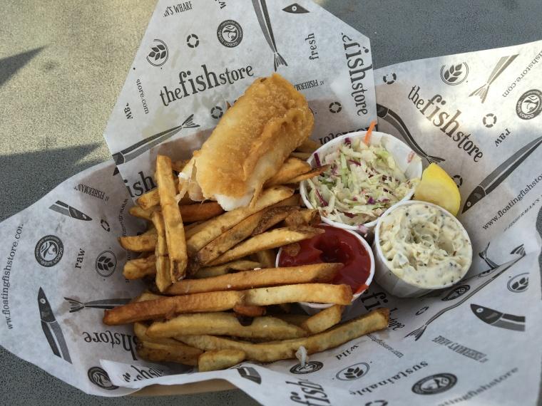 Gluten free fish & chips!